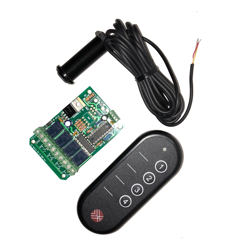 Infrared Remote Control Manufacturer Oem By Ir Receiver 4 Relay With Key